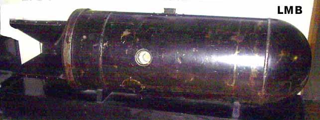 Германская авиационная донная мина LMB (Luftmine B (LMB)) .
